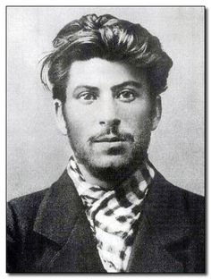 Oh My Lawd. Young Joseph Stalin is like a rugged, more handsome Keanu Reeves with Johnny Depp hair.