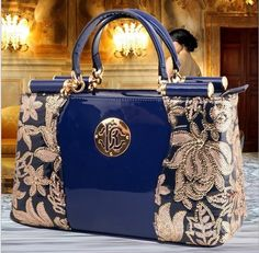 2015 New Vintage Lace Bag For Women Ladies Leather Tote Bags Female Retro Black Handbag Flower Grab Handbag Platinum Package Leather Bags For Women Womens Bags From Mshop2010, $68.07| Dhgate.Com
