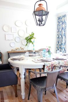 A meaningful home philosophy The Inspired Room Dining Room