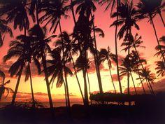 Hawaiian Sunset in Hawaii