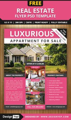 RealtorFlyer ER Promo Pinterest Real Estate Flyers Graphic - Free realtor flyer templates