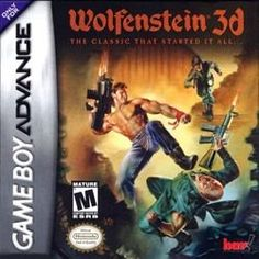 Wolfenstein 3D - Game Boy Advance Game