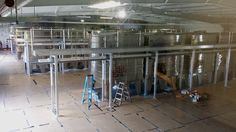 Article of @wineindustrynet about @rodneystrong #winery under construction with @lagardeinox #wine #tanks