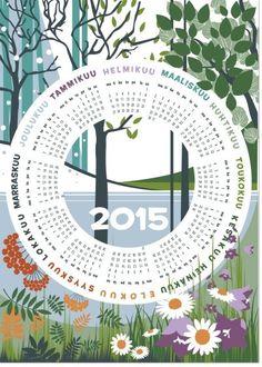 Kalenteripyyhe 2015 Anna Säteri