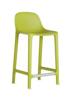 Broom Counter Stool  $400  Design Within Reach   also in white, black, yellow, red, brown