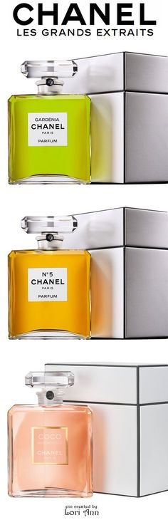 Chanel Les Grands Extraits - Gardenia, N°5, Coco Mademoiselle