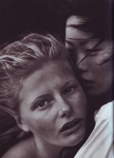 Vogue IT - A windy summer - May 1999 by Peter Lindbergh