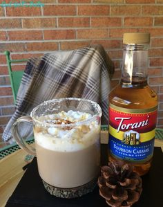 Keep warm this winter with a homemade Salted Chile Caramel Latte.