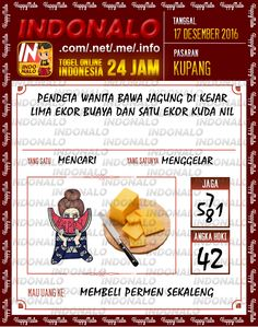 Tafsir Lotre 4D Togel Wap Online Live Draw 4D Indonalo Kupang 17 Desember 2016