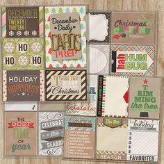 made with Cindy's Layered Cards: Christmas Bundle by Cindy Schneider A Christmas Wonderland: Bundle by Kristin Cronin-Barrow Awe-some Christmas by Shawna Clingerman & Penny Springmann Christmas Memories by Studio Flergs Christmas Spirit Collection: Value Bundle by Zoe Pearn December Joys : Holly and Ivy by Sugarplum Paperie Glitter alpha by Juliana Kneipp 365Unscripted: Mini Slipins by Traci Reed