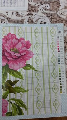 Vazolu çiçek 3 Projects To Try, Cross Stitch, Embroidery, Weather, Needlepoint, Cross Stitch Pictures, Bouquets, Dots, Punto De Cruz