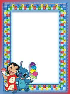 Lilo And Stitch Kids Transparent Photo Frame