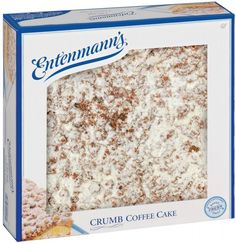 The Entenmann's store in Bay Shore, Long Island (NY) was so wonderful. Discounted treats like their delicious, signature coffee cake was always a favorite; particularly with my Grandpa! Crumb Coffee Cakes, Crumb Cakes, Long Island Ny, Fire Island, Cake Board, American Food, Good Ole, My Memory, Childhood Memories