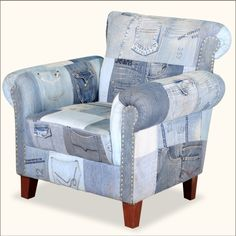 Upcycled Blue Jean Sofa Love All The Pockets, This Would Make Great Couch  Covers, Good Way To Make Extra Money, Make Custom Couch Covers From Garau2026