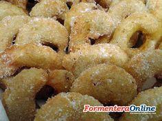 Buñuelos típicos de Formentera.