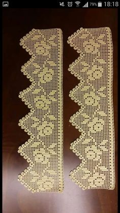 Kenar danteli Filet Crochet, Crochet Box, Crochet Dollies, Crochet Borders, Irish Crochet, Love Crochet, Crochet Stitches, Knit Crochet, Knitting Patterns
