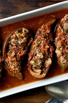 Travel anywhere in the Mediterranean region, and you will find stuffed vegetables In Provence, they tend to be filled with meat (a way to stretch leftover stews), but in the Middle East and Greece rice and grain fillings prevail Regional cooks make abundant use of fresh herbs like parsley, dill and mint, and sweet spices like cinnamon and allspice