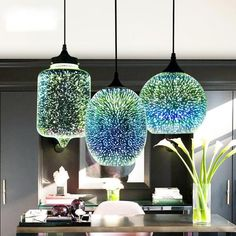 Rona - Modern Nordic Hanging Lamp – Warmly over kitchen island open floor Rona - Modern Nordic Hanging Lamp Glass Pendant Light, Glass Pendants, Pendant Lighting, Pendant Lamps, Home Decor Lights, Home Lighting, Luminaire Design, Led Chandelier, Hanging Pendants