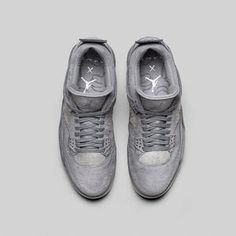 4c49ded07 The KAWS x Air Jordan 4 Grey Suede is one of the first collaborated Jordans  of 2017 which will be releasing later this month.