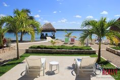 This can be your your view. Bacalar Lagoon Resort, Cabañas FOR SALE ( 5th Avenue Realty )
