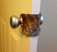 Hunting Camo Nursery Door Quieter Ready To Ship by TractorBaby