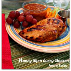 {Freezer to Oven} Honey Dijon Curry Chicken
