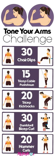 Tone your arms challenge