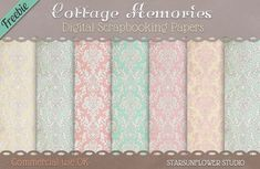 Massive Free Digital Scrapbooking Papers and Elements