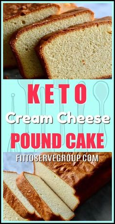 This easy recipe for keto cream cheese pound rivals its high carb counterpart, giving you a rich pound cake minus all the carbs. Enjoy a low carb pound cake that will have your taste buds thinking you've cheated. keto pound cake |low carb pound cake |keto cream cheese pound cake | sugar-free pound cake
