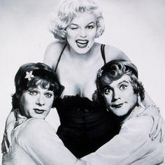 """""""Non piangere Zucchero, non c'è uomo che lo meriti"""" - A qualcuno piace caldo, Monroe,Curtis and Lemmon"""