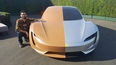 """459 Me gusta, 3 comentarios - Deutsche Tesla Fanpage (@tesladeutschland) en Instagram: """"Das Clay Modell des Roadsters ➖➖➖➖ Foto: @liketeslakim #Teslamodel3 #teslasemi #teslasemitruck…"""""""