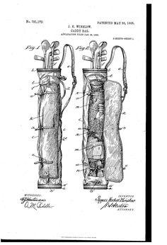 Patent US791172 - Caddy-bag. - Google Patents
