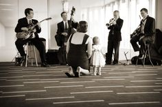 Even little kids enjoy live music. Photo by Chris K. #MinnesotaWeddingMusicBands #WeddingReceptions