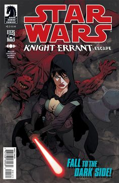 Star Wars Friday: Making of a Cover - Knight Errant: Escape #1 by Mike Hawthorne :: Blog :: Dark Horse Comics