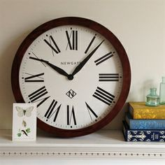 Wall Clocks from The Cotswold Company, beautiful books.