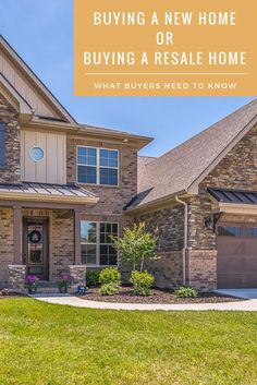 Does buying a resale home pay off in the end? Learn more about the features of buying a new home. Home Buying Process, Buying A New Home, New Home Construction, New Homes, Mansions, House Styles, Outdoor Decor, Design, Home Decor