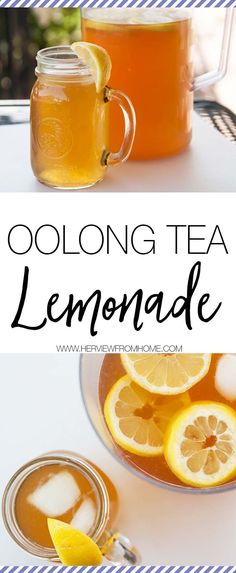 Oolong Tea Lemonade Want a recipe for a deliciously refreshing drink you can have on your own or when entertaining? This Oolong Tea Lemonade is [. Healthy Detox, Healthy Drinks, Easy Detox, Healthy Lemonade, Healthy Food, Detox Foods, Healthy Life, Healthy Living, Oolong Tee