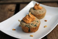 Unterwegs gesund essen – Teil 3: Herzhafte Spinat-Tomaten-Muffins
