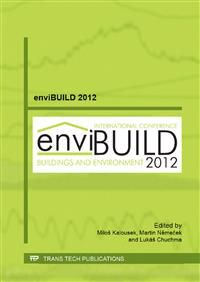 Envibuild 2012 [Recurso electrónico] : selected, peer reviewed papers from the enviBUILD 2012, October 25-26, 2012 and the Building Performance Simulation Conference 2012, November 8-9, 2012, Brno, Czech Republic / edited by Miloš Kalousek, Martin Němeček, Lukáš Chuchma http://encore.fama.us.es/iii/encore/record/C__Rb2628549?lang=spi