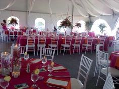 Our Reception Table Setting For Beach Wedding In Montego Bay Jamaica