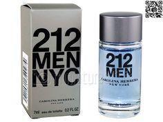 Miniature 212 - NYC men (Eau de toilette 7ml), Carolina Herrera - Photo Luc_T - www.miniatures13.fr