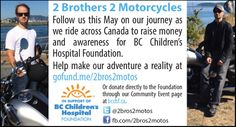 2 Brothers, Event Page, Community Events, Childrens Hospital, Go Fund Me, Vancouver Island, How To Raise Money, Coupons, Foundation