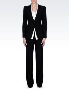 Tailleur Pantalone Donna Armani Collezioni - Armani Collezioni Official Online Store                                                                                                                                                                                 Plus