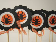 Halloween Cup Cake Toppers Halloween