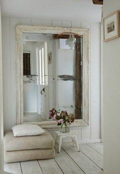 Apuesta por un gran espejo - Trucos para dar amplitud a las habitaciones