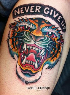 tigernevergiveup - Samuele Briganti Tattoo Artist