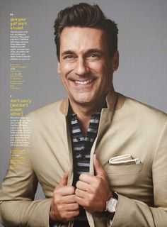 Jon Hamm GQ USA April 2015
