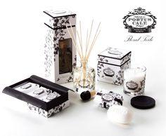 Claus Porto, Portus Cale Collection Floral Toile, Portuguese Brand