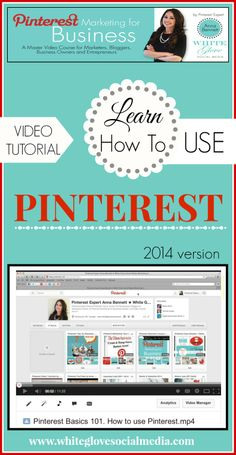 #PinterestExpert shares how to easily navigate Pinterest using the new version Feb. 2014 CLICK HERE to watch the video tutorial http://www.whiteglovesocialmedia.com/pinterest-consultant-101-beginners-guide-how-to-easily-navigate-pinterest/ ✭ #PinterestForBusiness #PinterestCourse ✭