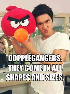 Siwon and Angry Bird